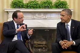 Obama and Hollande