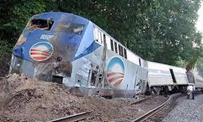 Obamacare train crash