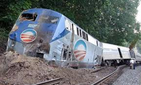 Obamacare train crash