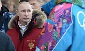Putin at Olympics