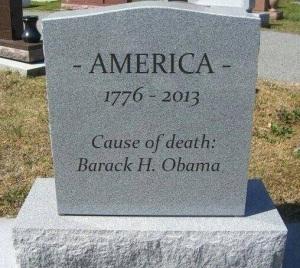 America dead