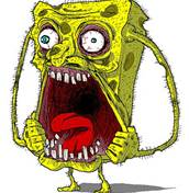 Gone crazy spongbob