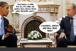 Putin and Obama two