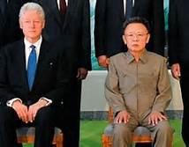 Bill Clinton and Kim Jong Il
