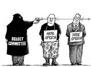 cartoon on speech
