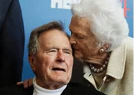 Daddy Bush and mom