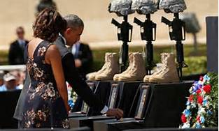 Funeral at ft. Hood