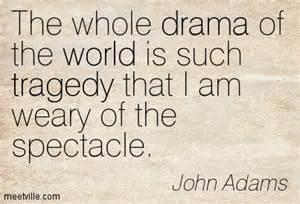 John Adams weary