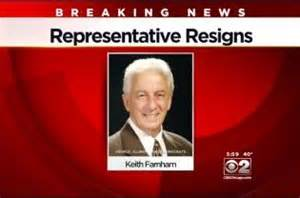 Kieth Farnham resigs