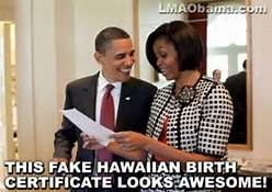 obama and fake birth cirtificate