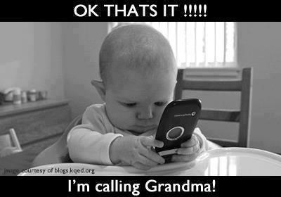 call grandma