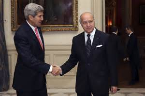 Kerry and Fabius
