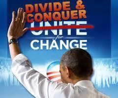 Divide and Con quer Obama