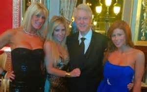 Bill Clinton and babes