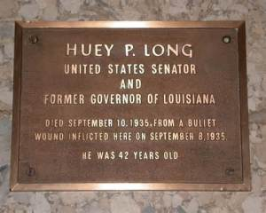 Huey Long death