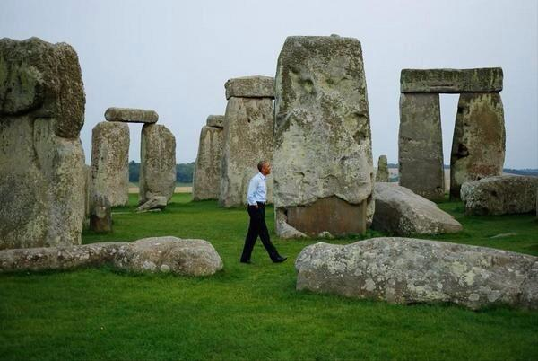 Obama among the stones two