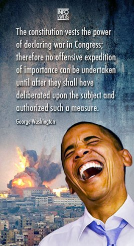 Obama and war