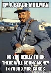 black mailman