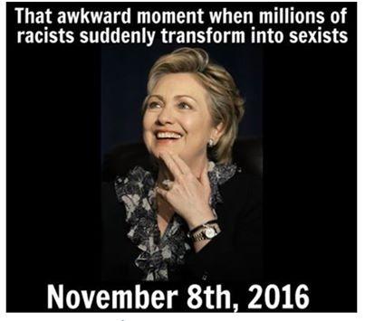 Hillary sexist
