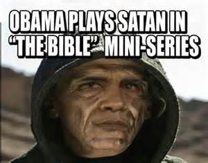 Obama as devil