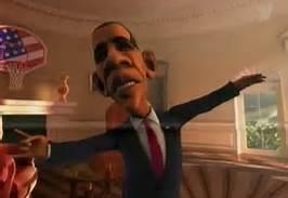Obama flys