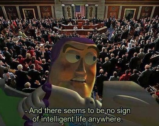 Buzz Lightyear and Congress