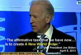 Joe Biden New World Order