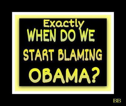obama blame