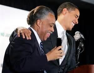Al Sharpton and obama
