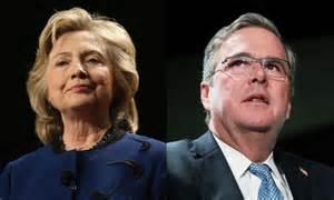 Bush vs Hillary three