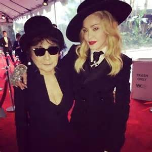 Madonna and Yoko