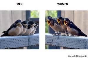 Men, women