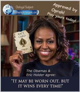 Michelle race card