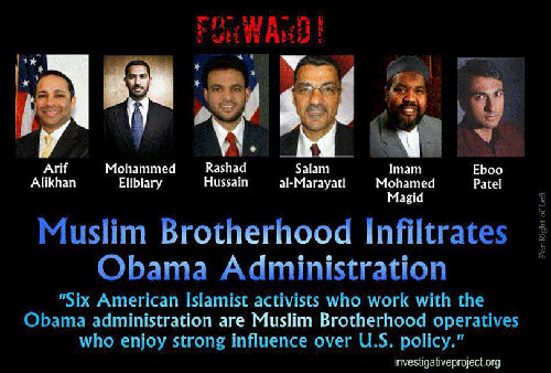 Muslims in the white house