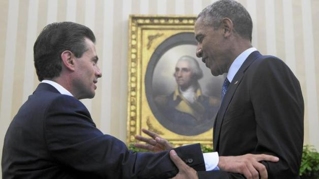 Obama and Enrique Pena Nieto
