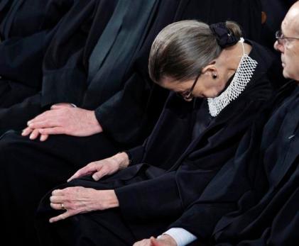 Ruth asleep