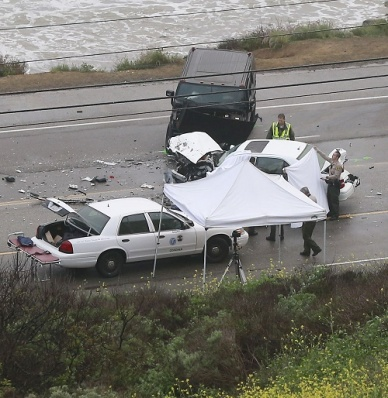 GV: Bruce Jenner Involved In A Crash That Leaves One Person Dead
