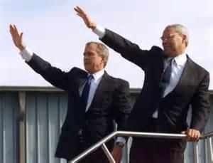 Bush and Powell