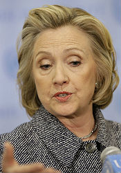 Hillary at UN
