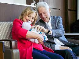 Bill and Hillary an babe