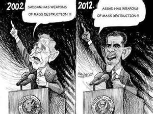 cartoon of WMD