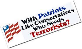 conservative terroritst