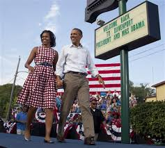 Obama in Iowa