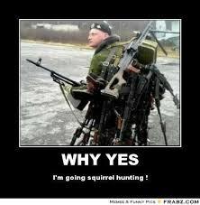 squrrel hunting