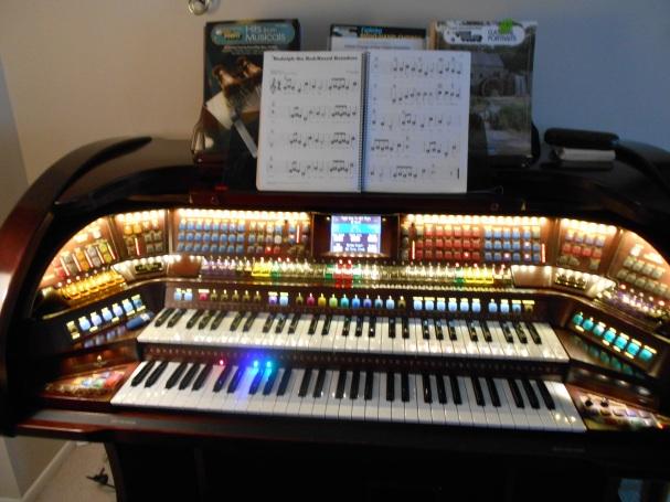 Ruth's $50,000 organ.