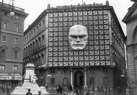 Headquarters of Mussolini