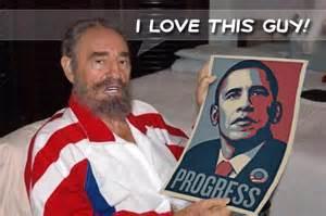 Castro and Obama