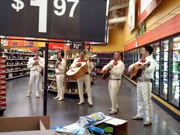 Mexicans at Wal mart one