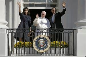 Pope and Obama two