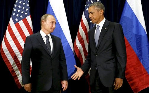 Putin's look...priceless.
